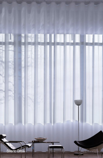 Silent Gliss Curtains | Flexitrack Furnishings